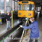 Eisenbahntypische Kalibrierungen - Messgleis U-Bahn