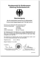 Anerkennung - Bundesanstalt für Straßenwesen