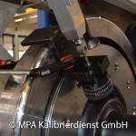 Eisenbahntypische Kalibrierungen - Radsatzpresse Rundlauf