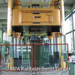 Werkstoffprüfmaschinen und Pruefstände - 25000 kN Maschine